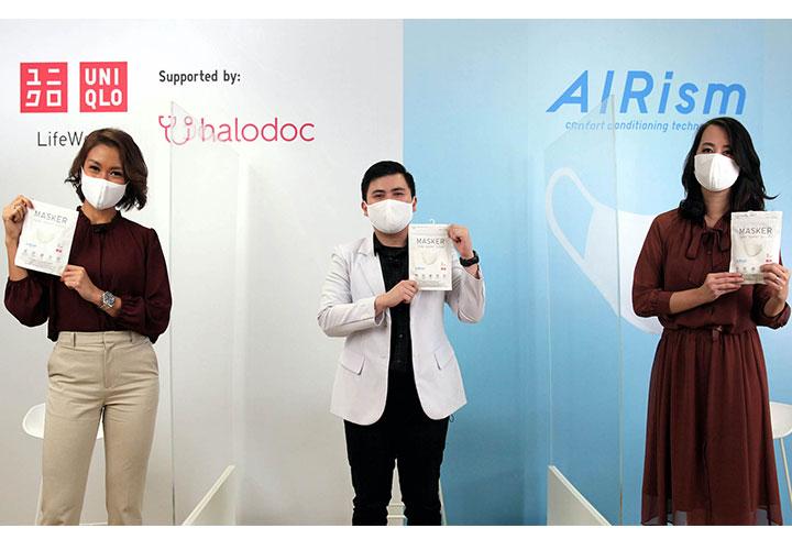 Aman dan Terlindung dengan Masker AIRism dari UNIQLO