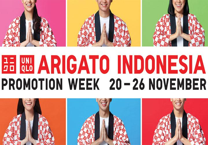 ARIGATO INDONESIA, Bentuk Apresiasi UNIQLO Terhadap Pelanggan di Indonesia