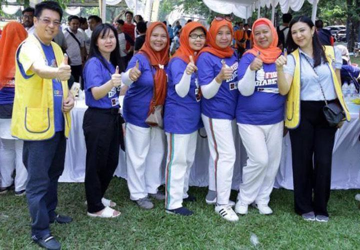 Cegah Diabetes bersama Lions Indonesia Distrik 307-A1