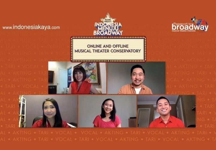 Indonesia Menuju Broadway 2021, Jalan Menuju Panggung Dunia
